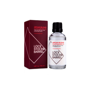 Масло для бритья и бороды Lock Stock&Barrel Argan Blend Shave Oil / ЛокСток Арган Бленд Шейв Оил, 50 мл