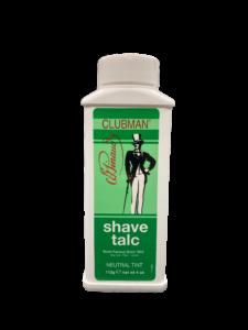 Clubman Shave Talc Тальк универсальный (нейтральный, подходит для бритья электробритвой), 112 гр