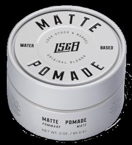 Матовая помада для укладки волос Lock Stock & Barrel Matte Pomade / ЛокСток Мэйт помейд, 85 гр