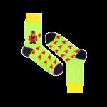 Мужские носки высокие Burning heels, Ламберджек