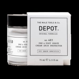 NO. 401 DEPOT Pre&Post Shave Cream Защитный крем для кожи до и после бритья, 75 мл