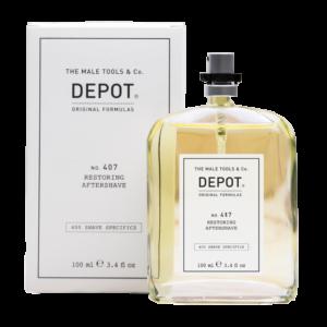 NO. 407 DEPOT Restoring Aftershave Восстанавливающий лосьон после бритья, 100 мл