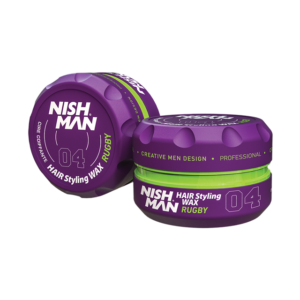 Матовый стайлинг M4 Nishman Matte Finish Hair Styling Super High Hold Wax, 100 мл