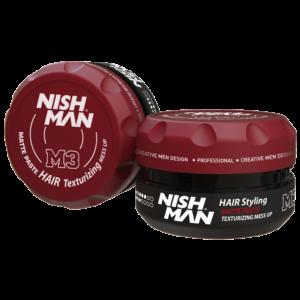 Матовый стайлинг NISHMAN M3 Hair texturizing mess up, 100 мл