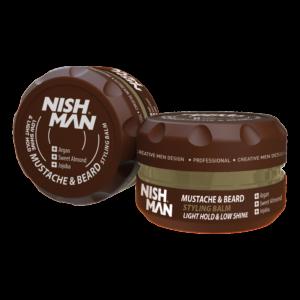 Бальзам-стайлинг для бороды и усов Nishman Styling Balm, 100 мл