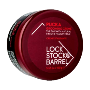 Крем для создания гибкой текстуры и объема Lock Stock & Barrel Pucka Grooming Creme / ЛокСток Пукка Груминг, 100 гр
