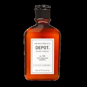 NO. 105 DEPOT Оживляющий шампунь для стимулирования роста волос, 250 мл