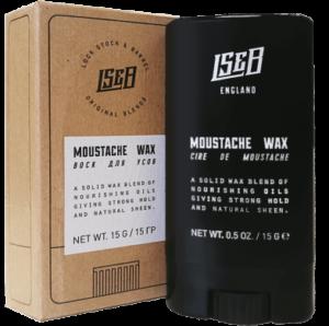 Воск для усов Lock Stock & Barrel Moustache wax / ЛокСток Мустач воск, 15 гр