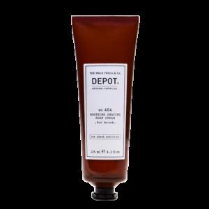 NO. 404 DEPOT Soothing Soap Cream for Brush Успокаивающее крем-мыло для бритья, 125 мл