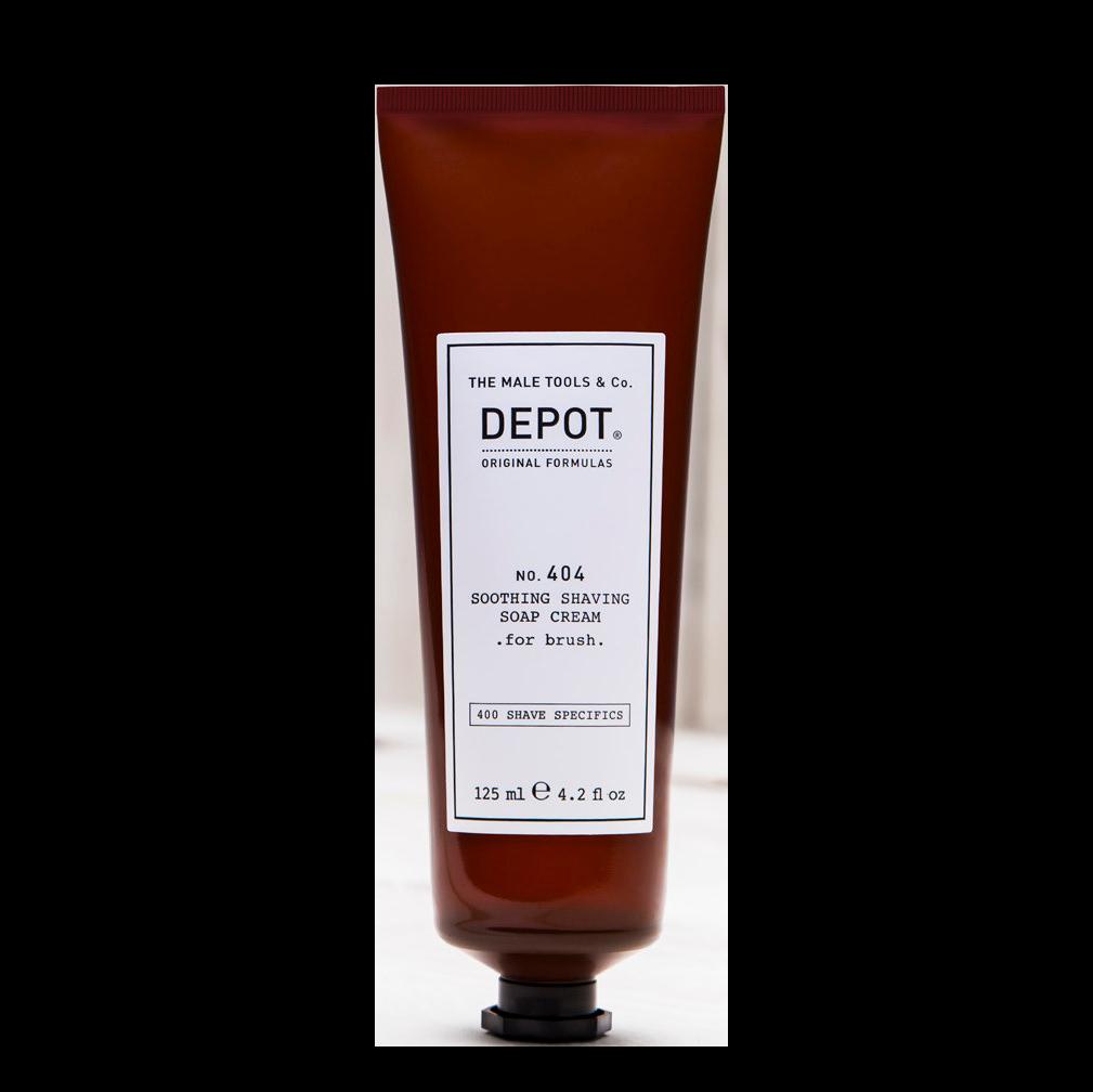 NO. 404 DEPOT Soothing Soap Cream for Brush Успокаивающее крем-мыло для бритья