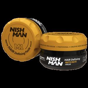 Матовый стайлинг NISHMAN M1 Hair Defining Paste,100 мл